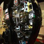 2017 IBEX Show engine on display
