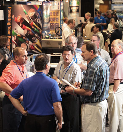 Attendees at IBEX Show