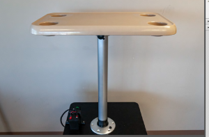 Electrified Table Pedestal System